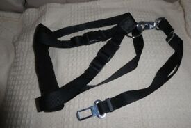 NEW Dog Car Harness with Detachable SEAT BELT STRAP for Medium to Large Dog, 50-70 cm, Histon