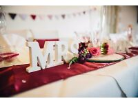 Mr & Mrs Sign for Wedding decoration or in the Home