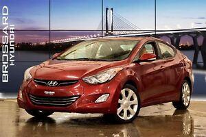 2011 Hyundai Elantra Limited A/C GPS CUIR CAM?RA DE RECUL