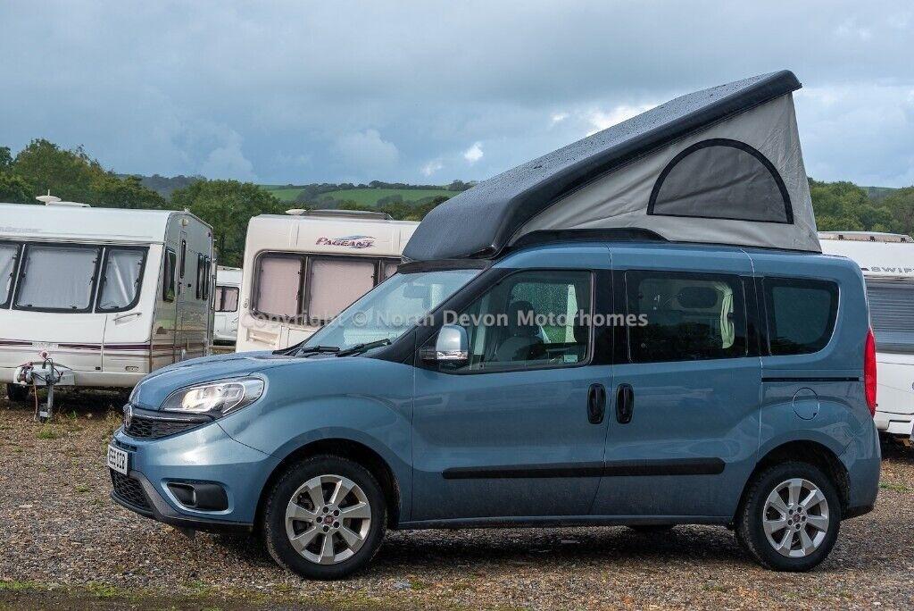 Wheelhome Skurry 2016 Fiat Doblo 1 6 2 Berth Pop Top Micro Campervan 7000miles In Barnstaple Devon Gumtree