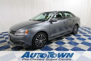 2014 Volkswagen Jetta 1.8 TSI Highline/SUNROOF/REAR CAM/NAV