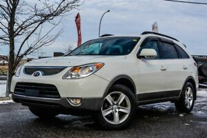 2010 Hyundai Veracruz 4x4, GLS, LEATHER, SUNROOF