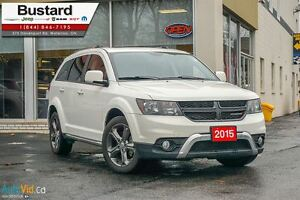 2015 Dodge Journey Crossroad HEATED SEATS, LEATHER, DUAL CLIMATE