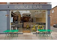 Looking for a waitress/waiter to work in a busy burger Bar