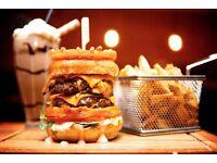 Burger Restaurant Manager/ Supervisor/ Head Waiter Wanted