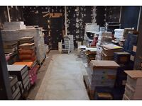 New unused clearance tiles, from £5 to £12 per sq meter, discounts on bigger buy