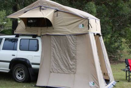 DELUXE TWO PERSON ROOF TOP TENT WITH BOTTOM ROOM COMBO NEW IN BOX & roof top tent | Camping u0026 Hiking | Gumtree Australia Free Local ...