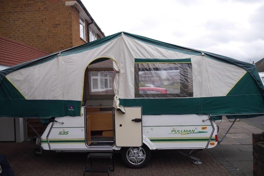 pennine pullman 2004 folding c&er trailer tent & pennine pullman 2004 folding camper trailer tent | in Rochester ...