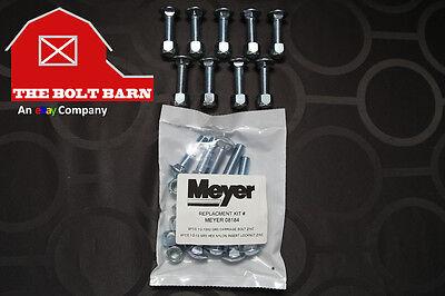 Meyer Plow Snowplow Cutting Edge Bolts - 12-13x2 Plow Bolt Kit Meyer 08184