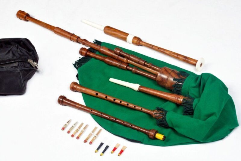 Border Pipes, Scottish Lowland Pipes, Lowland pipes, Reel pipes, or Half Longs