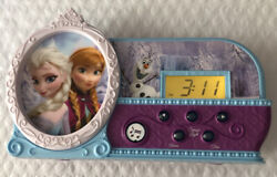 Disney Frozen Night Glow Let It Go Musical Light Up Alarm Clock, ElsaAnnaOlaf