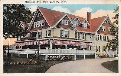 New Canaan  Ct  Hampton Tourist Inn   Surroundings  Berman Pub  Used C  1910 20