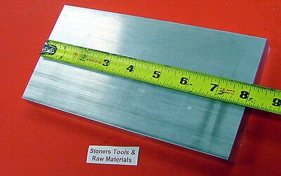 34 X 4 Aluminum 6061 Flat Bar 8 Long Solid .750 T6511 Plate Mill Stock