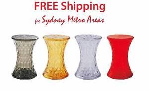 SALE - Marcel Wanders Style Stone Stool (set of 2) Zetland Inner Sydney Preview