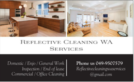 Cleaner Available all area