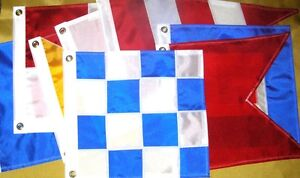 Nautical-Sailboat-Boating-LG-Signal-Code-FLAGS-Pennants