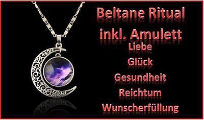 Ritual Glück Gesundheit Liebe Reichtum Wunscherfüllung  & Energieamulett * Neu !
