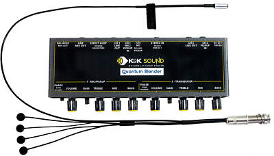 K&K Sound Quantum Trinity CLASSIC Pickup/Preamp w/Pure Classic & Mic, NEW! for sale  Shipping to India