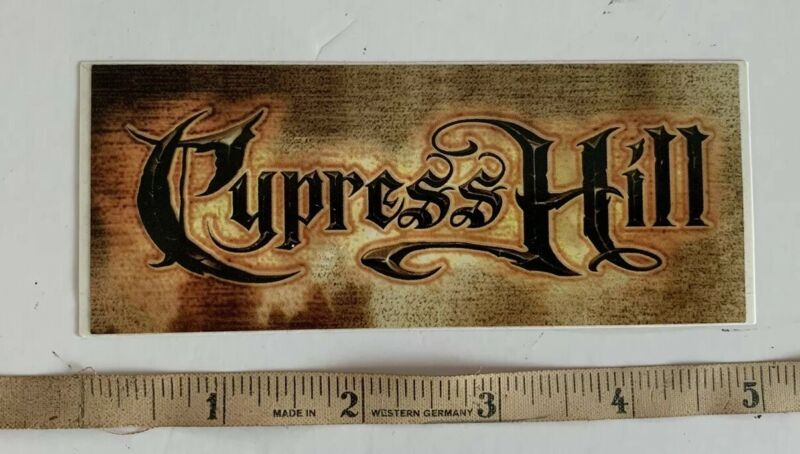 Cypress Hill Band Luggage Sticker PROMO Till Death Do Us Part