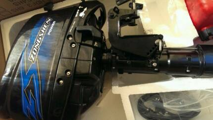 New 5HP Short Shaft 4 STROKE Outboard Inc Bonus external Tank Sydney City Inner Sydney Preview