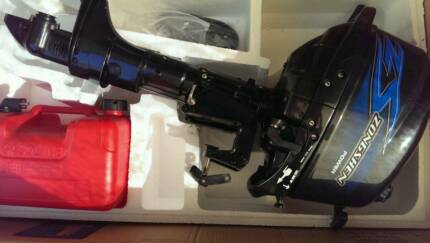 5hp 4 Stroke Outboard Motor - Free Delivery Melbourne CBD Melbourne City Preview