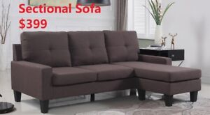 FABRIC SECTIONAL SOFA FOR 399 ONLY