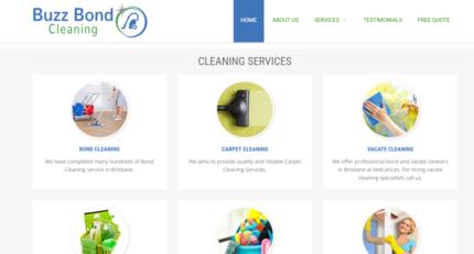 Website Designer for cleaning company Brisbane