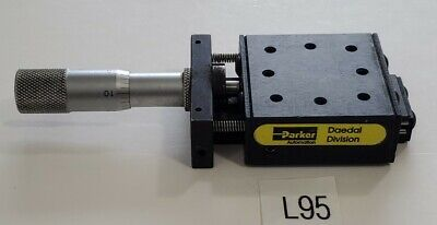 Preowned Parker Positioning Systems Linear Slide Micrometer Part Warranty