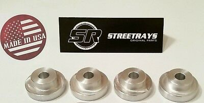 [SR] Solid Billet Differential Diff Mount Bushings for S13 240SX & R32 GTS-T