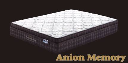 【Brand New】Anion Memory 3 zone pocket spring mattress