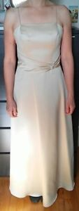 Robe soirée couleur or, 12 / Maid of honor gold dress, size 12