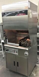Ventless gill and fryer combination - NO VENT REQUIRED