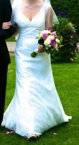 All Over Beaded Lace - Trumpet Style Wedding Dress