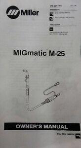 Miller Mig Welder M-25