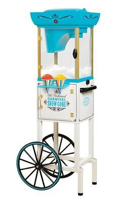 Snow Cone Machine Stand Maker Shaved Ice Cart Countertop Cool Summer Appliance