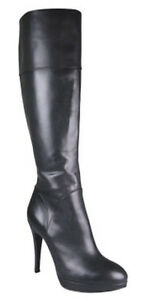 WITTNER Adila Black Leather Stiletto Boot Heels - Size 38 Frenchs Forest Warringah Area Preview
