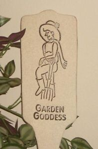 GARDEN GODDESS - Humor in the Garden MARKER Decor