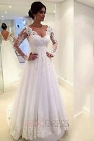 beautiful lace size 8 wedding dress