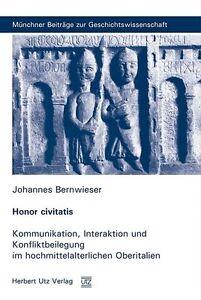 JOHANNES BERNWIESER - HONOR CIVITATIS