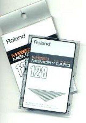 Roland M-128D Memory Card - neu - original verpackt