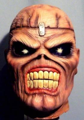 EDDIE IRON MAIDEN LATEX MASK -- Costume Cosplay Bust Prop Halloween -- NOT CHINA (Iron Maiden Eddie Halloween)