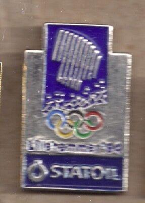 1994 Statoil Lillehammer Olympic Pin