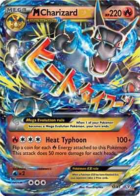 M Mega Charizard EX 12/83  NM   HOLO FOIL  Pokemon Generations TCG Rare