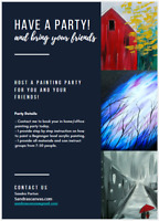 Paint Night - Mobile parties that come to you