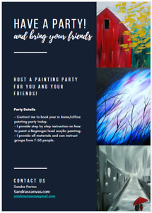 Paint Night - Mobile Parties that comes to you!