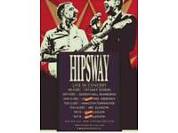 Hipsway 2 tickets sold out gig ABC Glasgow saturday 16th Dec