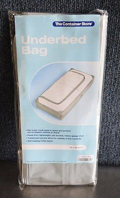 The Container Store Underbed Bag 42  X 18  X 6