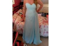 Prom Dress size 12 in blue