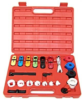 22 Pc Fuel Air Conditioning A C Transmission Line Disconnect Oil Cooler Tool set