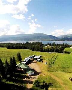 Affordable BC Lake View Hobby Farm